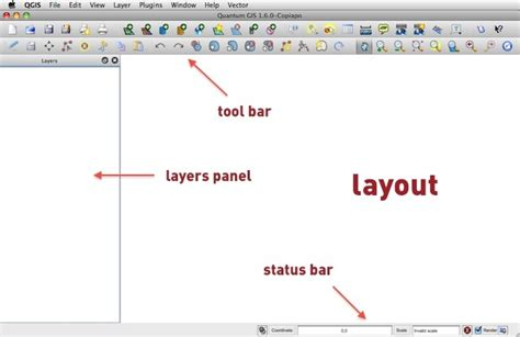 layout guide status bar qgis basics for journalists berkeley advanced media