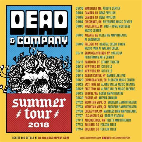 dead and company verified fan dead company 2018 summer tour