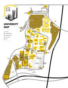 Cal State La Campus Map campus maps california state university los angeles