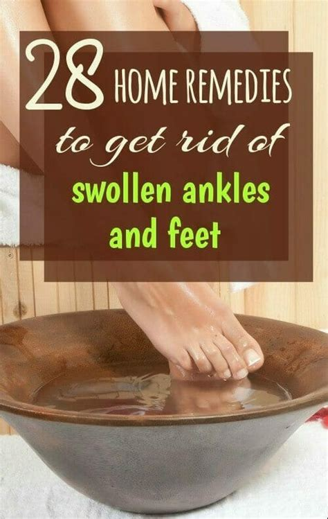 28 home remedies for and ankle swelling