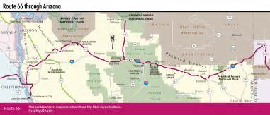 map route 66 arizona driving route 66 through arizona road trip usa