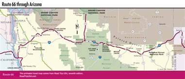 Route 66 Map Usa by Driving Route 66 Through Arizona Road Trip Usa