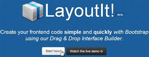 layoutit bootstrap 4 bootstrap 學習網 使用 bootstrap 建置雛型網站