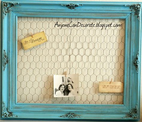 Meme Boards - anyone can decorate 5 diy memo board thrifty crafty chic