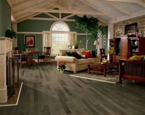 Distressed Hickory Wood Flooring by Grey Wood Laminate Flooring For A Beauty Room Flooring