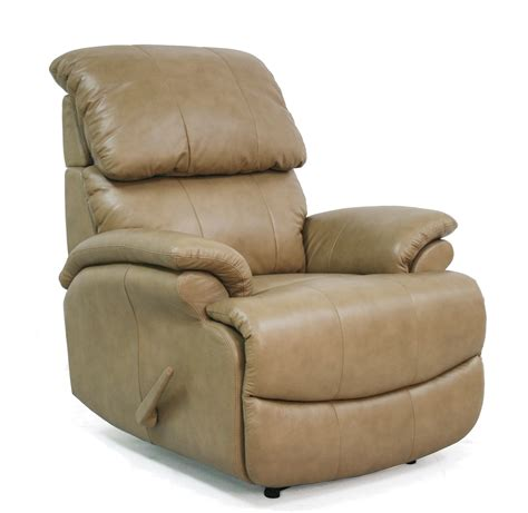 Light Leather Recliner Barcalounger Mirage Ll Leather Recliner Light Taupe 6