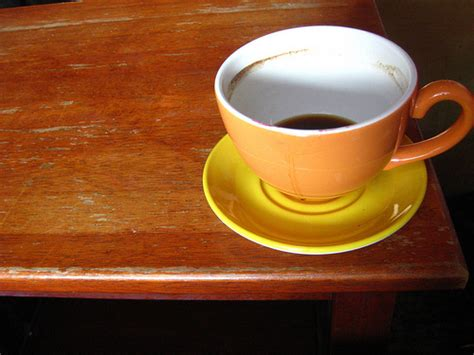 coffee cup on table flickr photo
