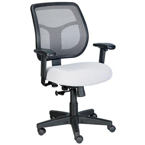 Apollo Mesh Back Swivel Chair With Fabric Seat Zuri Mesh Swivel Chair