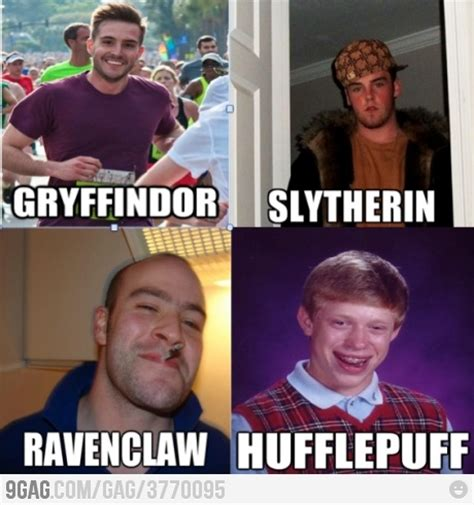 Harry Potter House Meme - 9000 points to gryffindor runners ravenclaw and hogwarts