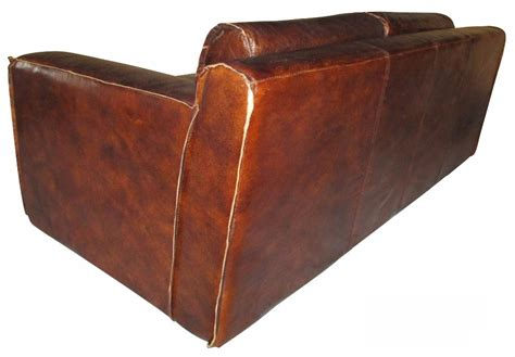 Classic Brown Old Lantique Leather Couches Sofa For Sale Brown Leather Sofas For Sale