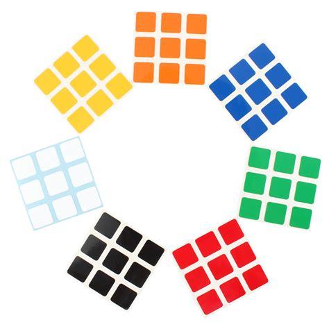 Cube Aufkleber Orange by Ersatz Aufkleber Sticker Set F 252 R Cube Zauberw 252 Rfel Zauber