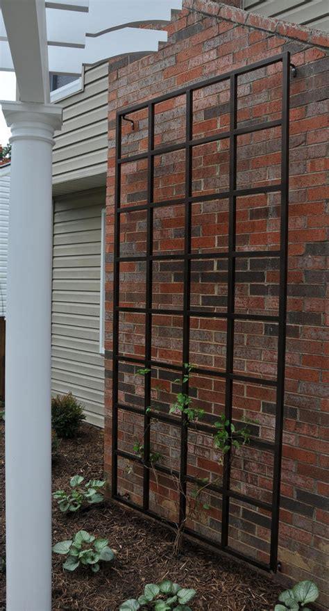 metal garden wall trellis 4 x 8 wall trellis