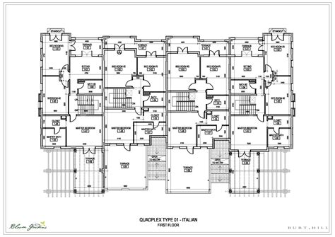 quadplex plans inspiring quadplex designs 20 photo building plans