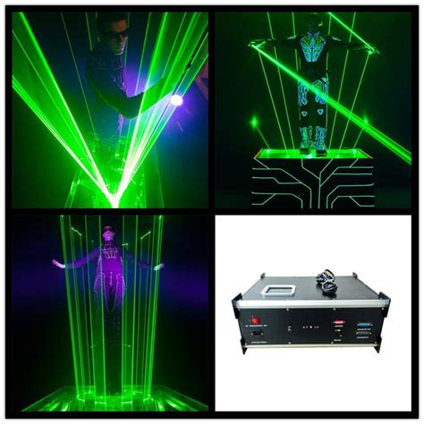 Laser Light Machine by 3w Green Laser Stage Light Laserman Show Equipment Machine