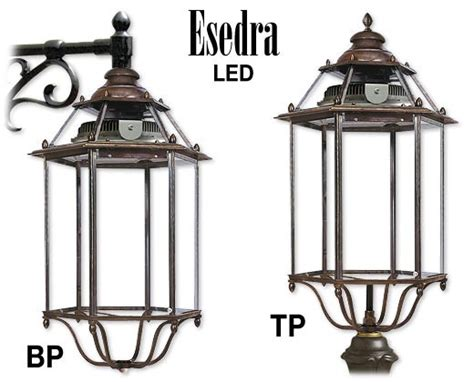 esedra illuminazione lanterne a led esedra led in ottone