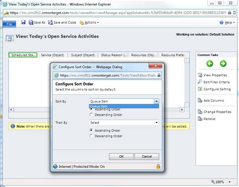 newest dynamics crm 2011 questions stack overflow dynamics crm can t sort queue items in crm 2011 stack
