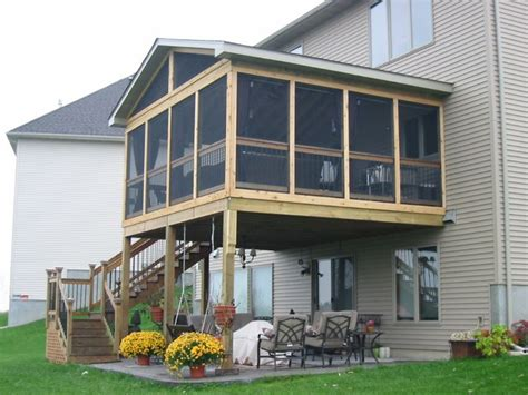 best 25 screened in deck ideas on screened in