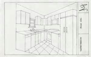 Floor Plan And Perspective Iarc Iar 112 Kitchen Floor Plan Amp Rendering Perspectives