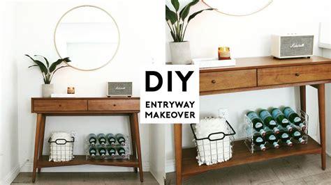 diy room makeover minimal entryway room decor ideas 2018