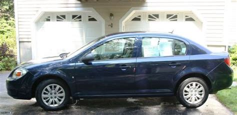 manual cars for sale 2009 chevrolet cobalt engine control purchase used 2009 chevrolet cobalt 62k miles manual transmission 4 doors ls sedan blue in