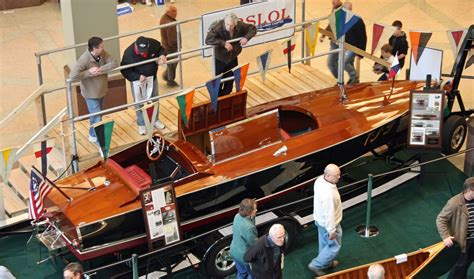 minneapolis boat show the antiques and classics stand out at the 2013
