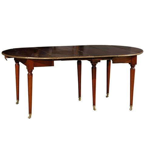 19th century extension dining table two leaves for