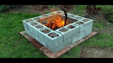 Cinder Block Pit Inexpensive And Attractive Ideas The Cheap Cinder Block Pit Ideas My Sweet House