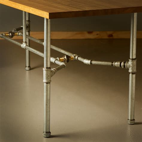 Plumbing Pipe Dining Table by Industrial Plumbing Pipe Dining Table