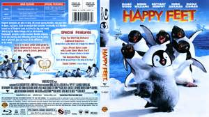 Slipcovers Online Happy Feet Blu Ray Dvd Cover 2007