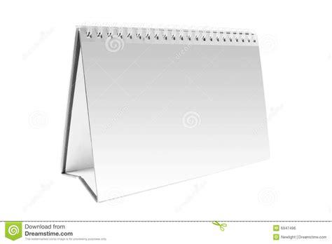 blank desk calendar royalty free stock image image 6947496