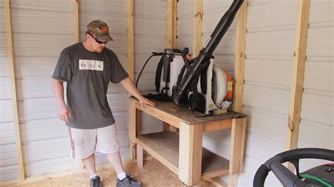 Lawn tool storage in a garden shed jays custom creations