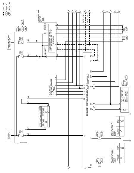 nissan altima wiring schematic wiring diagram