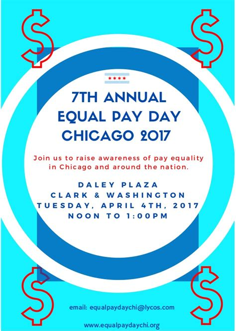 on equal pay day new equal pay day rally 4 4 17 iatse local 769 chicago