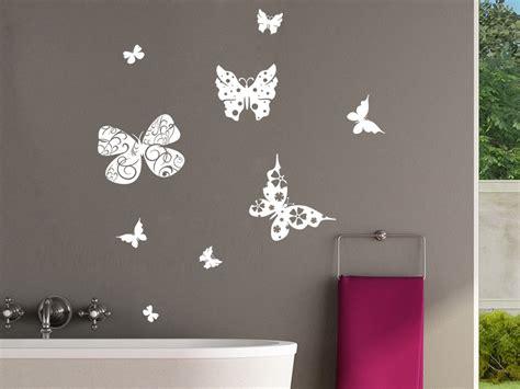 Kinderzimmer Inspiration 4218 by Wandtattoo Schmetterlinge Mit Ornamenten Set Bei Wandtattoo De