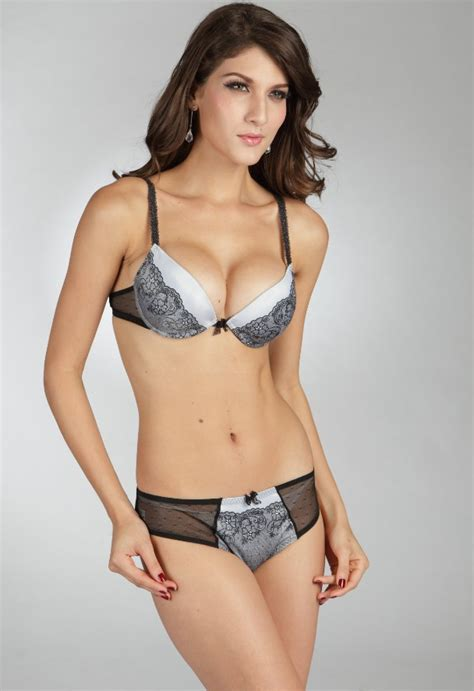 Bra Set Cardin Blue cardin 1104 push up bra set blue ebay