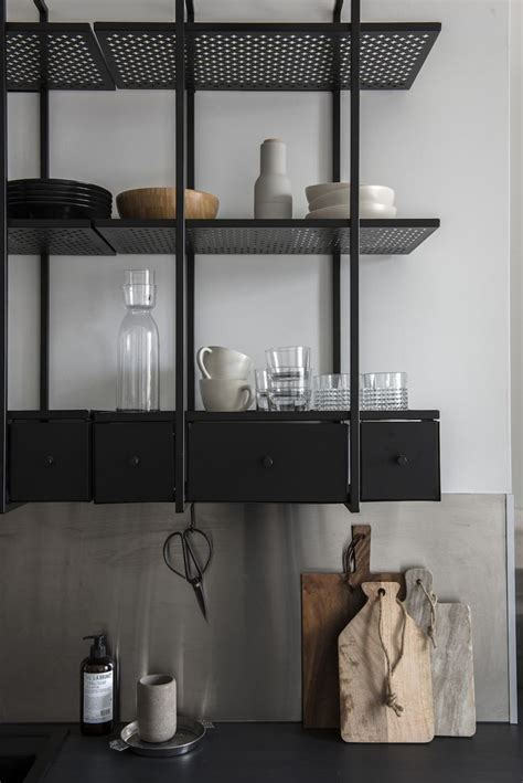 metal wall shelves for kitchen best 25 metal shelving ideas on metal shelves