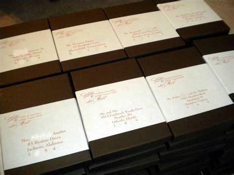 Wedding Box Labels by Wedding Box Invitation Labels Customer Ideas