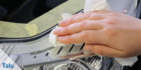 Scheinwerfer Polieren Von Hand matte blinde scheinwerfer polieren so geht s richtig