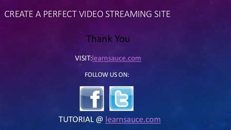 tutorial video streaming create a perfect video streaming site tutorial