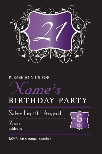 21st birthday invitations templates 56 best images about invitations for birthday