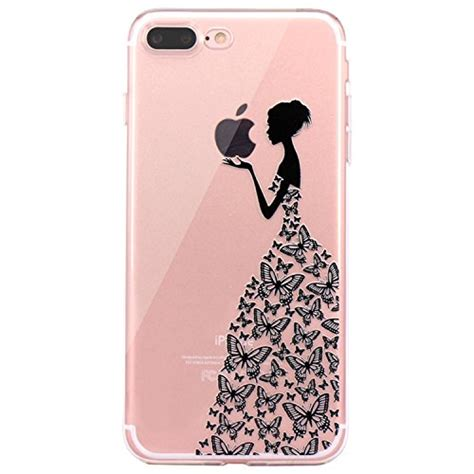 Special Produk Drawing Fuze Tpu Clear Iphone 7 With Logo iphone 7 plus iphone 8 plus jaholan beautiful