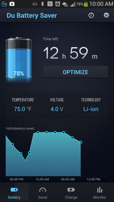 battery saver for android tablets du battery saver and switch widget get more battery from your android androidtapp