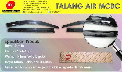Talang Air Slim Injection List Chrome Khusus All New Camry 2013 Up variasi mobil talang air slim list orie