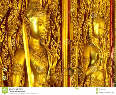 Guarding The Golden Door Essay by Golden Door Guards Temple Stock Photos Image 29224813
