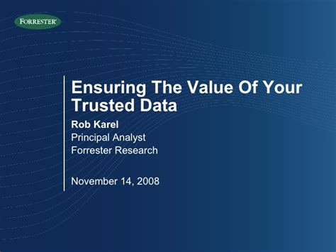 foundations of trusted autonomy studies in systems decision and books rob karel ensuring the value of your trusted data data