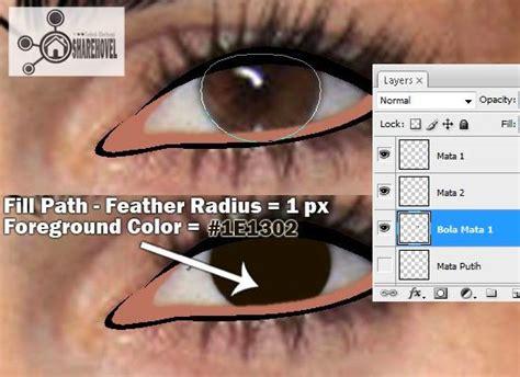 cara membuat warna bola mata menjadi coklat tutorial membuat vector di photoshop photo to cartoon