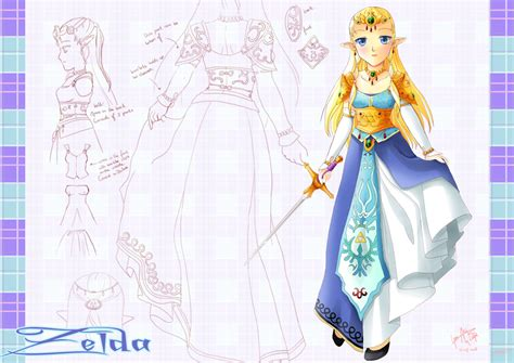 Zelda Design Dress | zelda design commission by yuina19 on deviantart