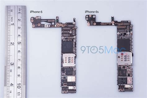 iphone 6s logic board suggests 16gb base model and updated nfc hardware macrumors