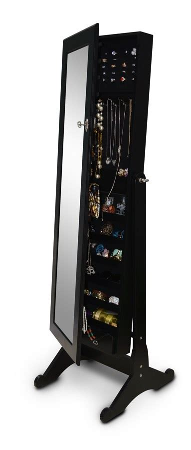 floor standing jewelry armoire free shipping floor standing jewelry armoire jane