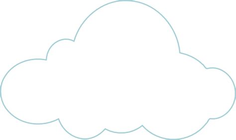 cloud to be labelled clip art at clker com vector clip